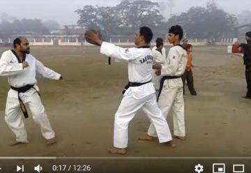 Real Taekwondo practice
